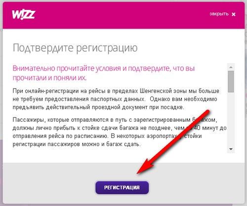 wizzair check in