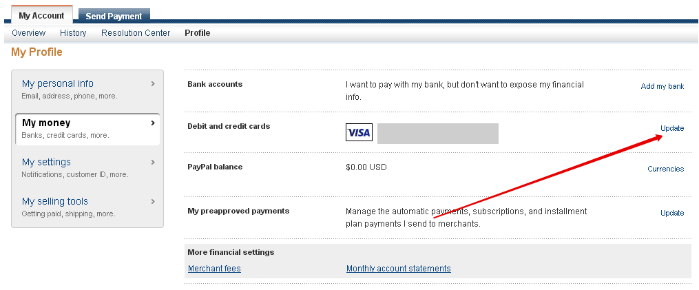 13 регистрация PayPal