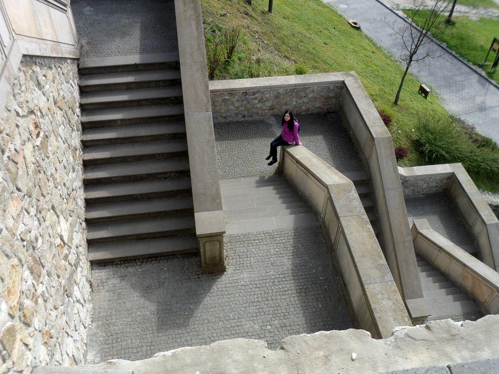 Спуск с Братиславского града