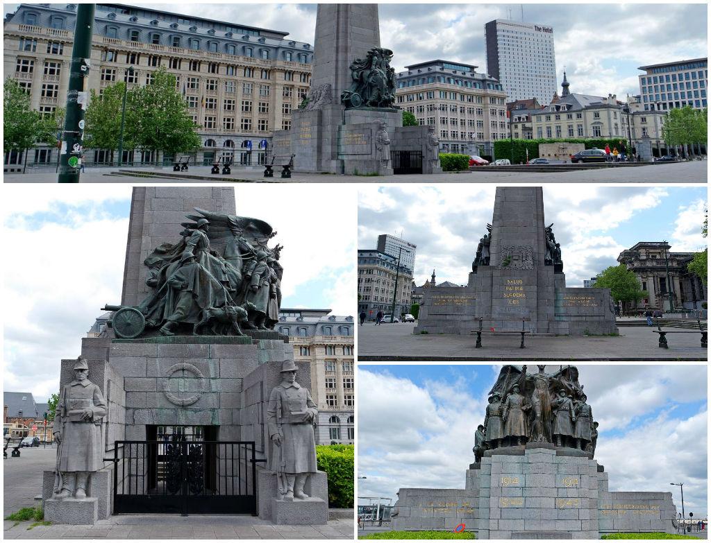 Монумент павшим в первой и второй мировой войны