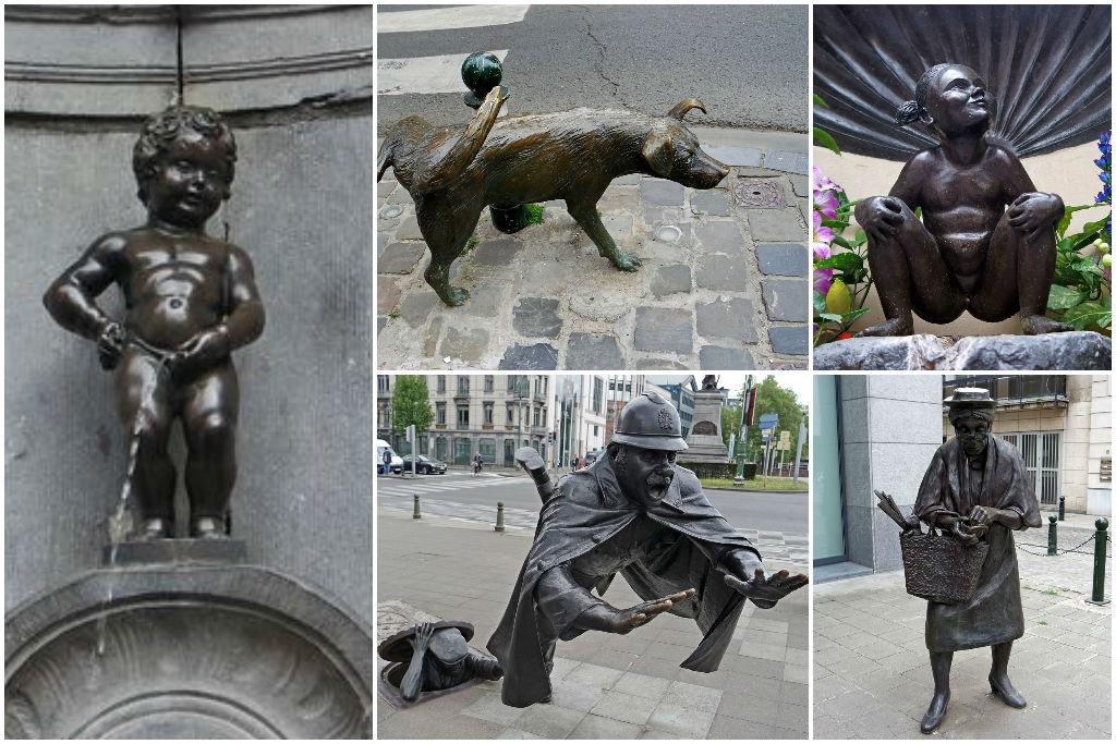 Писающий Брюссель
