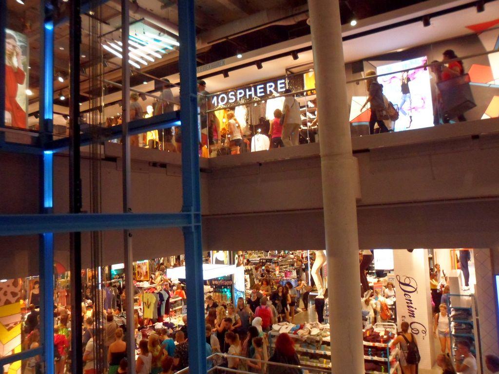 Торговый центр на Александерплац