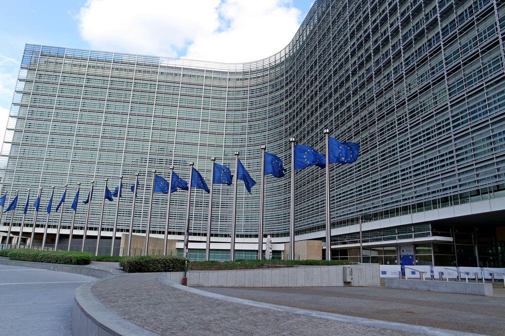 Здание европейской комиссии
