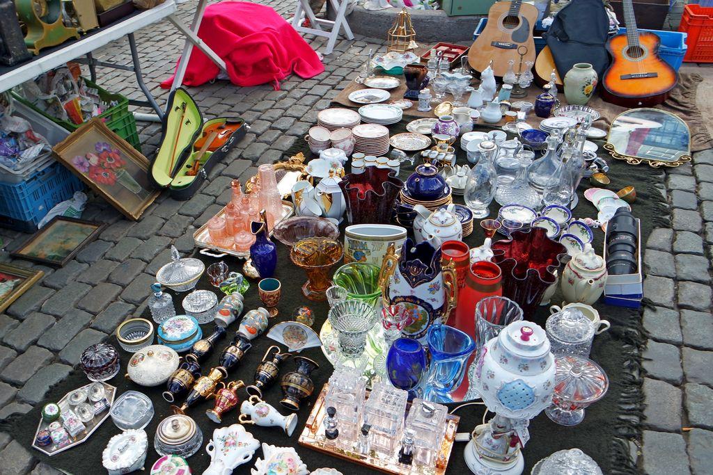 Брюссель - Блошиный рынок