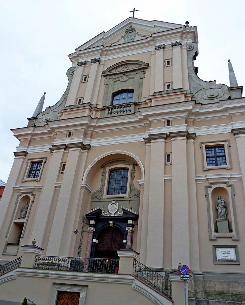 Костёл Святой Терезы в Вильнюсе