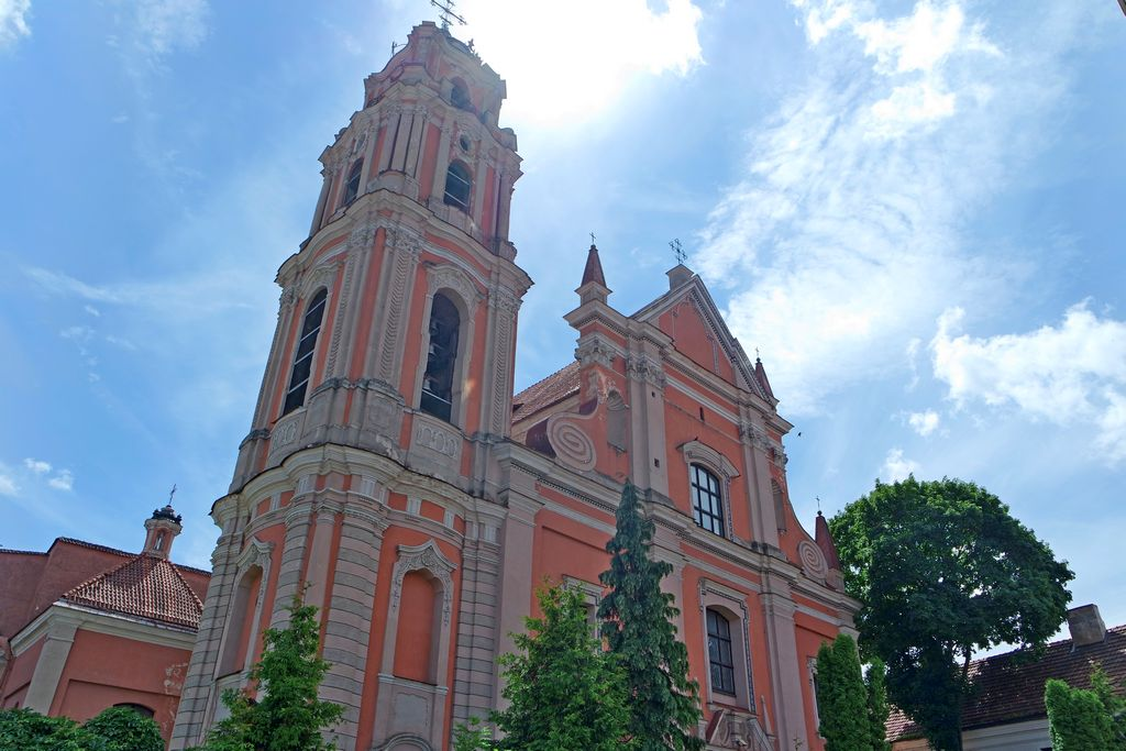 Костёл всех Святых в Вильнюсе