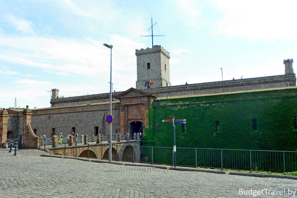Крепость Монжуик
