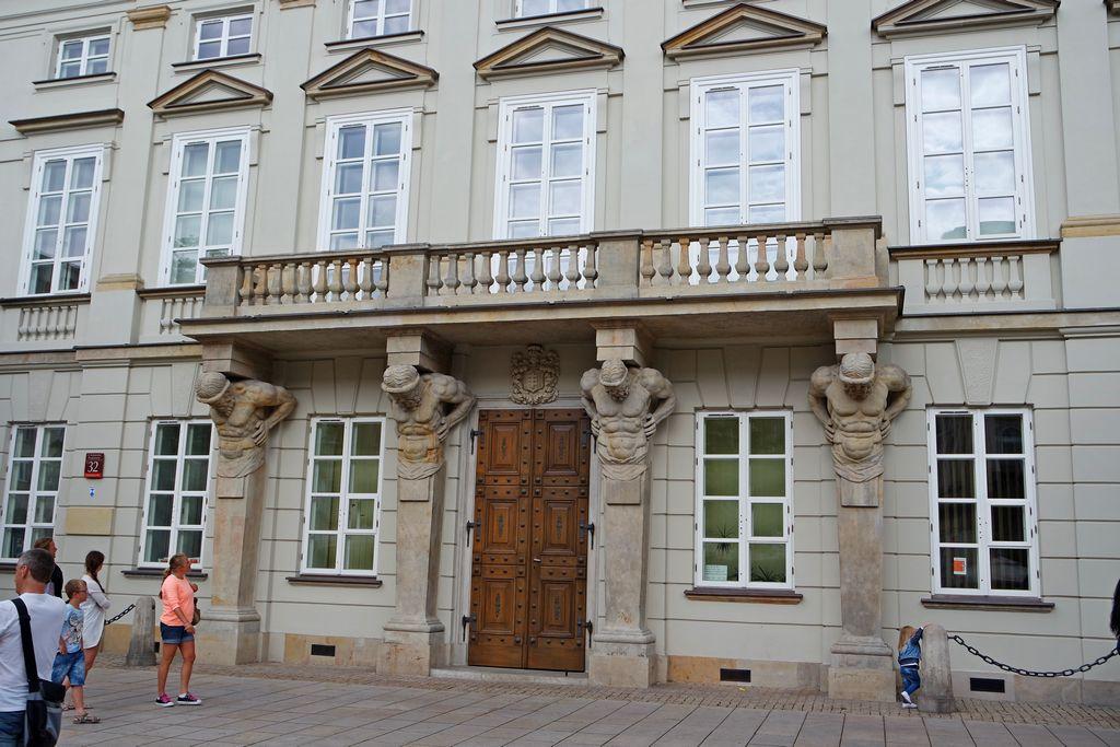 Дворец Тышкевичей и Музей варшавского университета