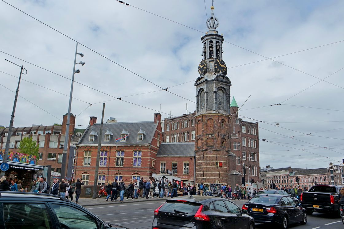Монетная башня - Амстердам