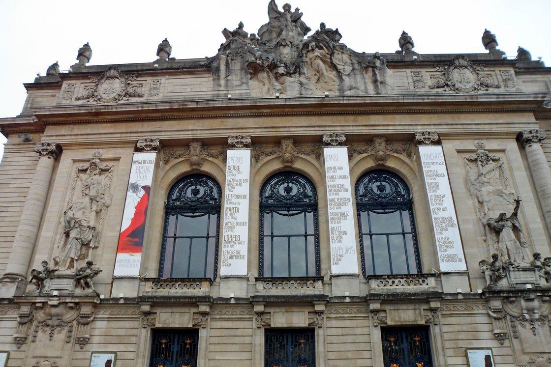 Оперный театр в Лилле