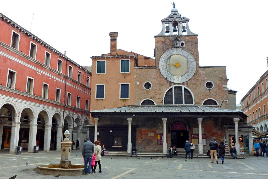 Церковь Сан Джакомо ди Риальто