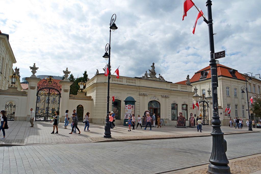 Вход во Дворец Потоцких