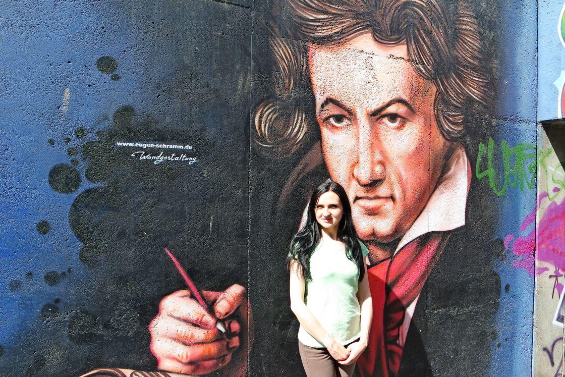 Портрет Бетховена в Бонне