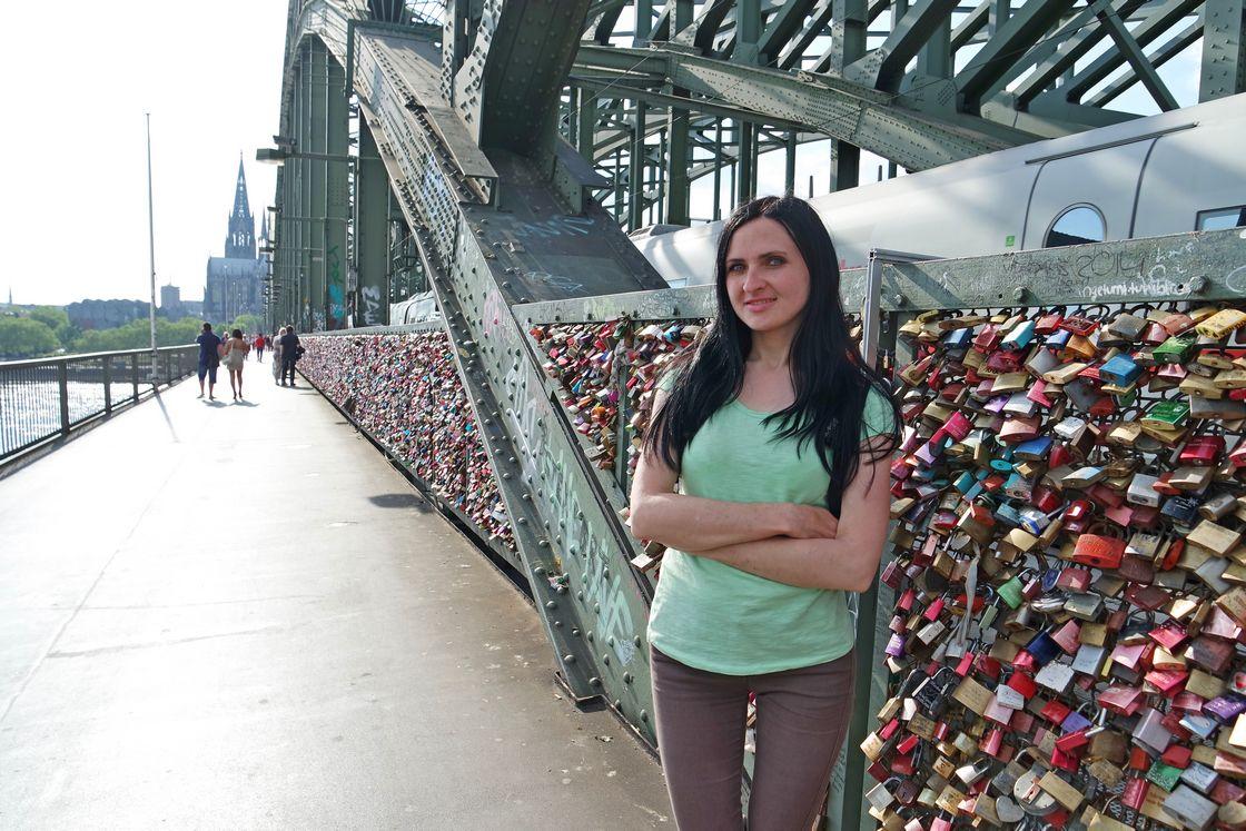 Замки на Мосту Гогенцоллернов