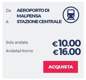 MalpensaShuttle в Аэропорт Милана Мальпензо
