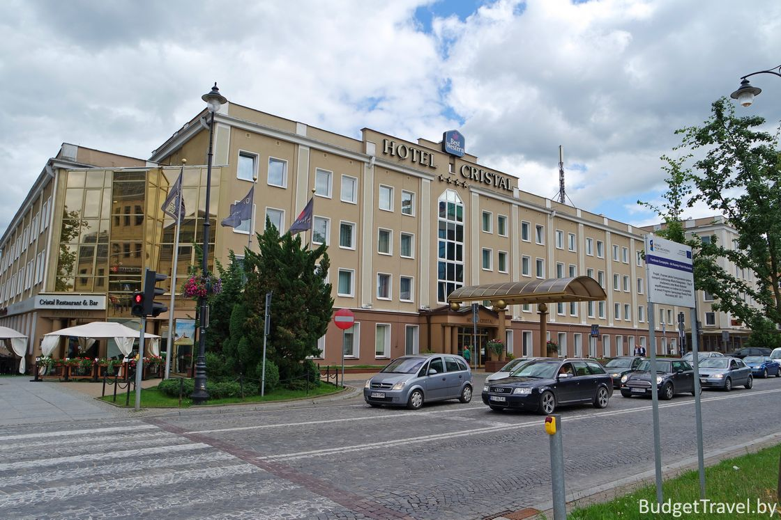Hotel Cristal - Белосток