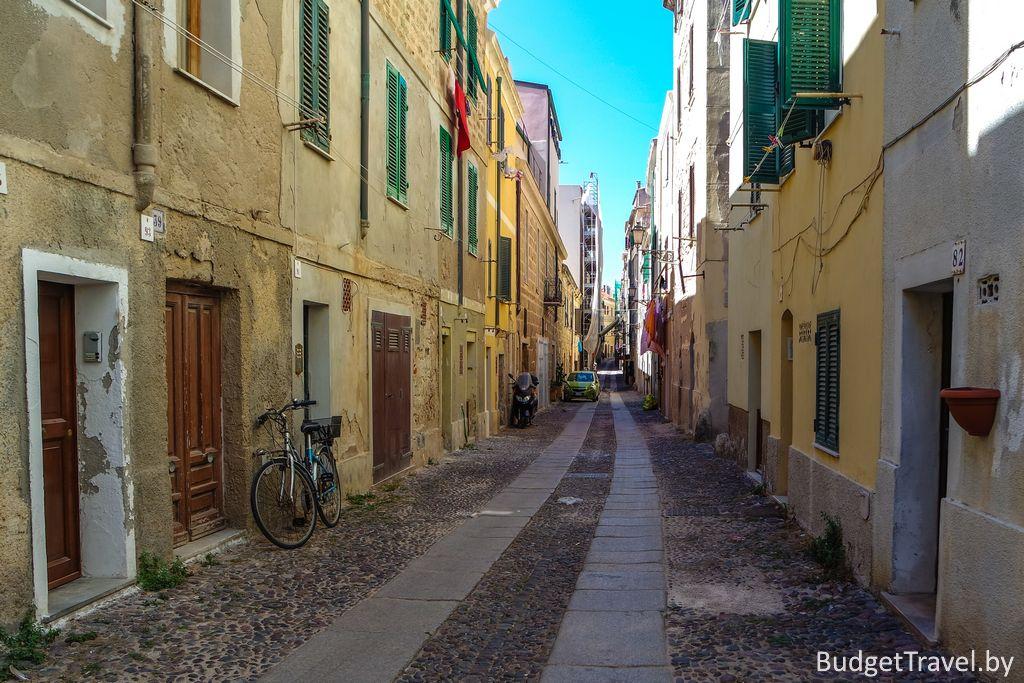 Альгеро - Via Camillo Benso Conte di Cavour