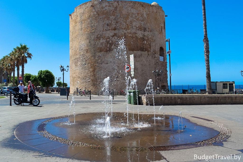 Достопримечательности Альгеро - Башня Torre di Sulis