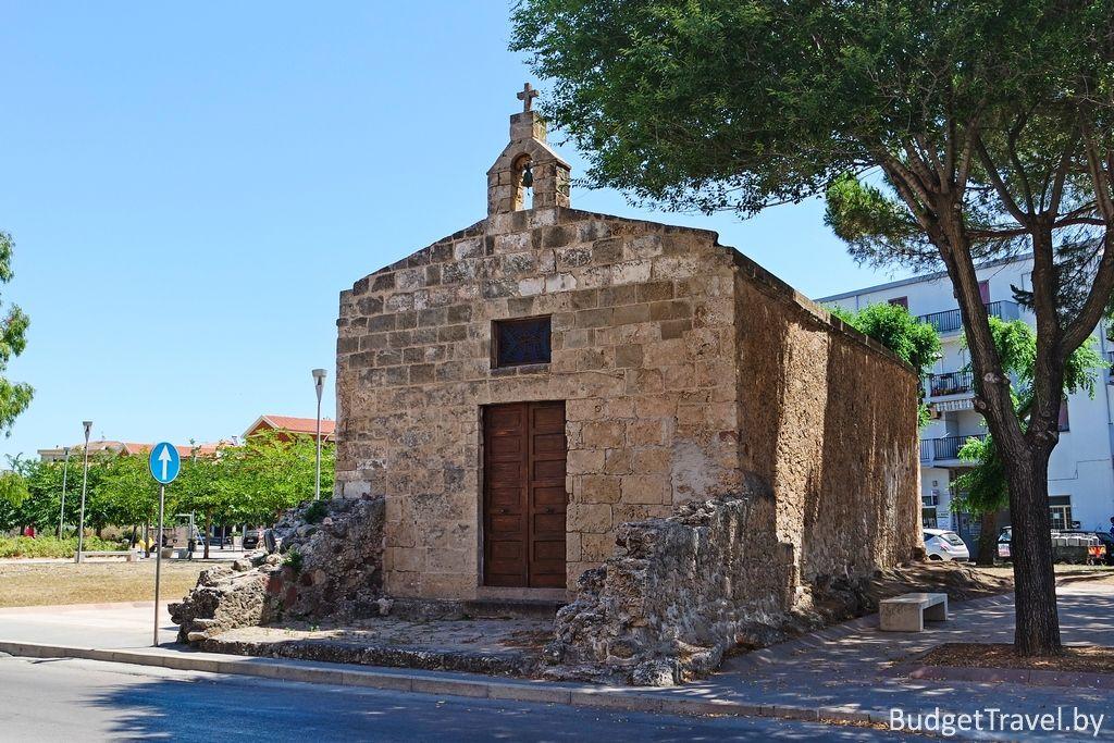 Церковь Chiesa Sant'Agostino Vecchio - Альгеро